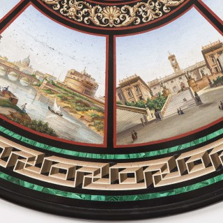 A Grand Tour Centre Table The Top Attributed to Cesare Roccheggiani