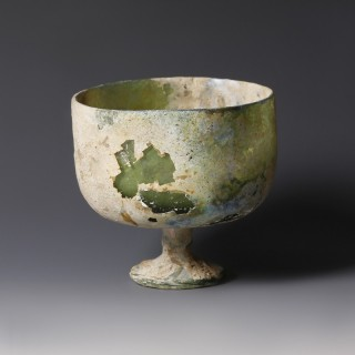 Late Roman Glass Chalice