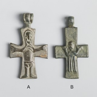 Fine 12th Century Christian Double-Sided Crosses