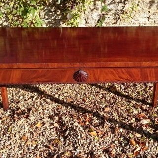 Large Country House 18th Century George III Period Mahogany Antique Console Table