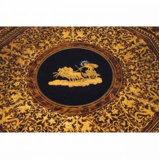Antique Italian Sorrento Tilt Top Occasional Table c.1830