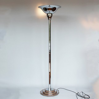 Art Deco Uplighter Floor Lamp