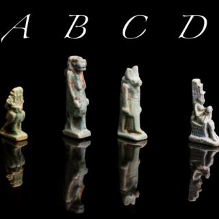 Selection of Amulets of Egyptian Gods