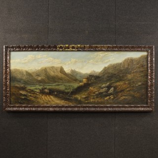 20th Century Signed Landscape Oil Painting