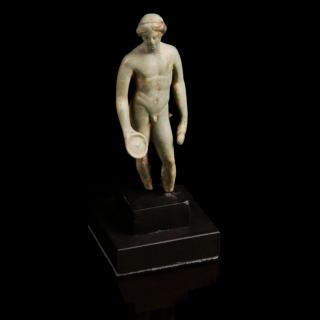 Roman bronze statuette of Apollo