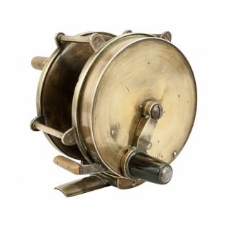 Brass Salmon Fishing Reel