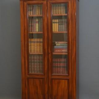XIXth Century French Bookcase in Mahogany