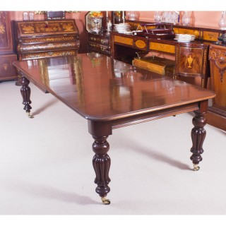Antique 8ft Victorian Extending Dining Table C1860