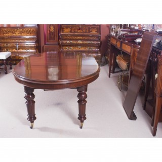 Antique 8ft Victorian Oval Extending Dining Table c.1860