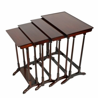 Nest of Four Sheraton Style Tables