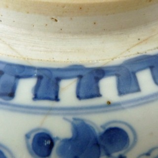 Kangxi Blue and White Porcelain Jar