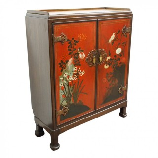 Rare Chinoiserie Style Cabinet by Whytock and Reid