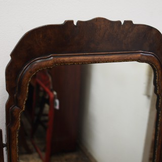 Early Georgian Style Burr Walnut Dressing Table