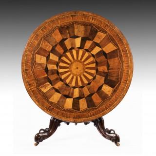 Rare Large Antique Specimen Table 19th Century