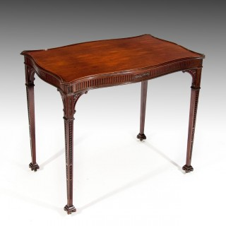 Fine 19th Century Mahogany Silver Table
