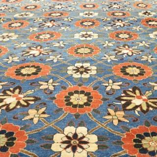 An exceptional fine Veramin carpet, c.1900
