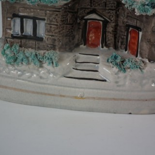 Staffordshire three storey snow-covered house