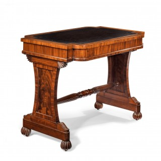 Antique 19th Century Mahogany Stretcher Table