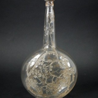Rene Lalique Glass 'Aubepines' Carafe (decanter)