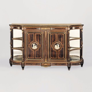 English Aesthetic Movement Cabinet by James Lamb