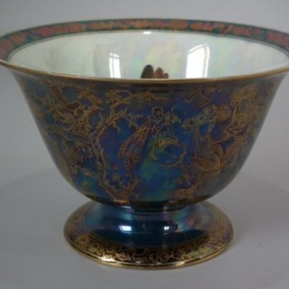 Wedgwood Fairyland Lustre 'Firbolgs' Antique Centre Bowl