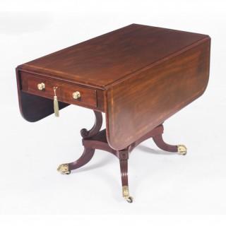 Antique Regency George III Pembroke Table Gillows c.1820