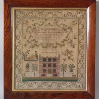 1812 Sampler by Susannah Roberts