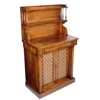 Regency Tiger Wood Chiffonier