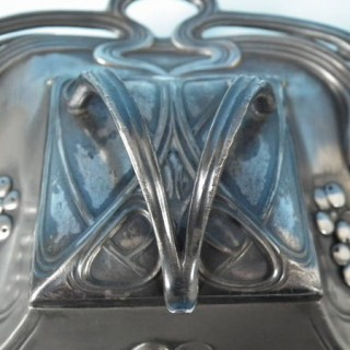 WMF Art Nouveau Inkstand with glass liner