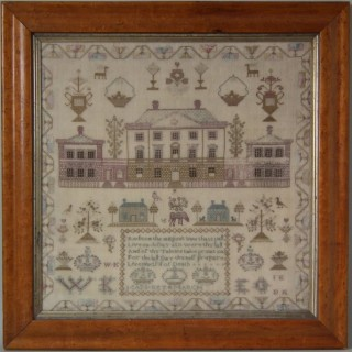 Antique Sampler, by Jean Key, Country House