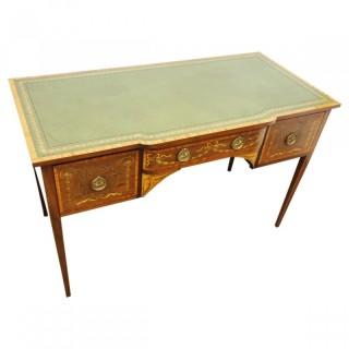 Inlaid Mahogany Ladies Desk