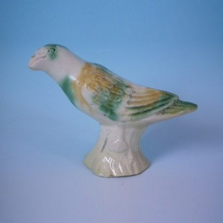 Small Staffordshire Creamware Bird