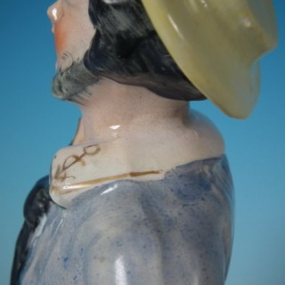 Staffordshire sailor figure