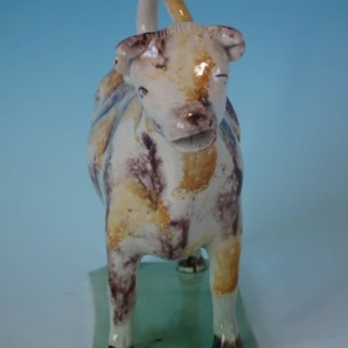 Staffordshire Pearlware Cow Creamer