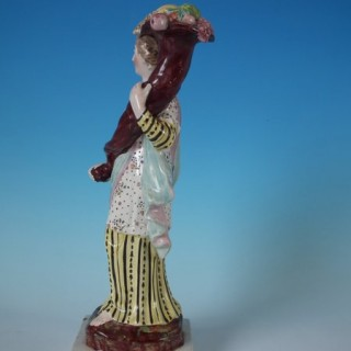 Staffordshire Pearlware Figure of Plenty