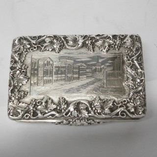 Antique Silver Snuff Box