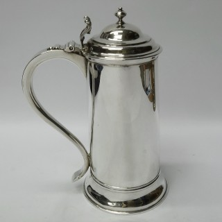 Antique George I Silver Flagons