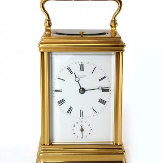 Drocourt Strike Repeat Carriage Clock