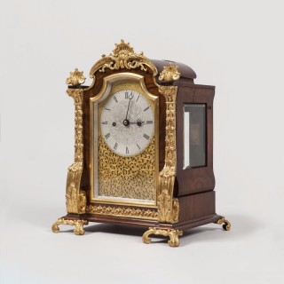 Table Clock by Brockbank & Atkins of London