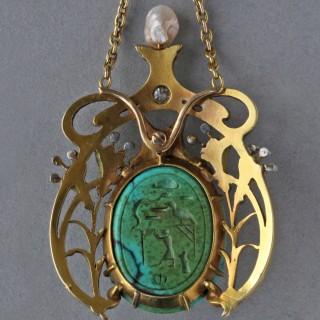 GUILLEMIN FRÈRES Fin de Siècle Necklace