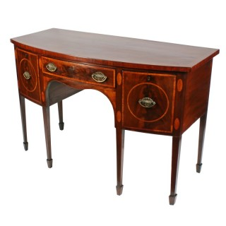 Sheraton Bow Fronted Sideboard