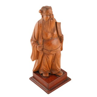 Carved Figure of a Chinaman