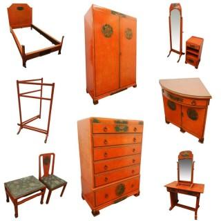 11 Piece Bedroom Suite by Whytock and Reid, Edinburgh