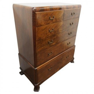 Mahogany Chest of Drawers by Whytock and Reid, Edinburgh