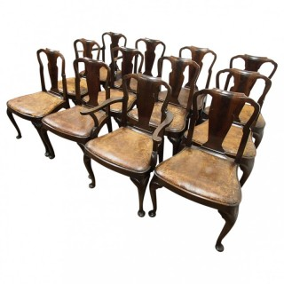 Set of 12 Chairs by Whytock and Reid