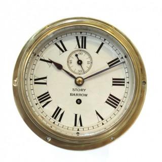Antique Ships Clock Timepiece