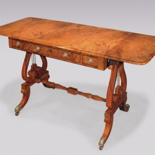 An unusual early 19th Century Regency period colonial Sofa Table.