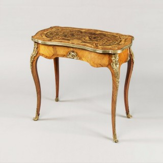 English Occasional Table Attributed to Holland & Sons