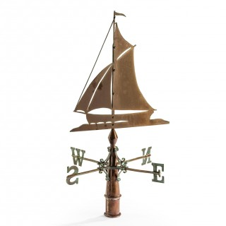 Nautical Copper Weathervane