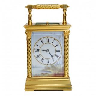 Antique Porcelain Carriage Clock
